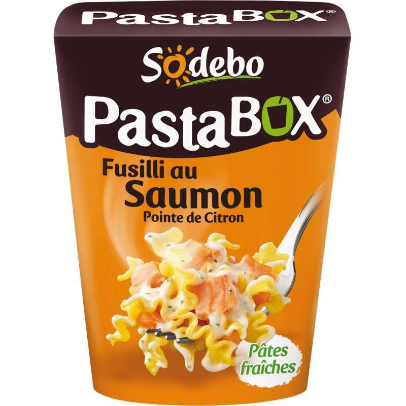 Pasta Box fusilli au saumon, Sodebo (280 g)