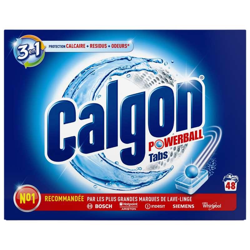 Pastilles anti calcaire 2 en 1, Calgon (x 48 tablettes, 624 g)