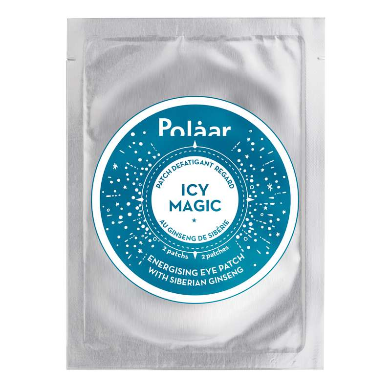 Patch yeux défatiguant regard IcyMagic au ginseng de Sibérie, Polaar (x 4 paires)