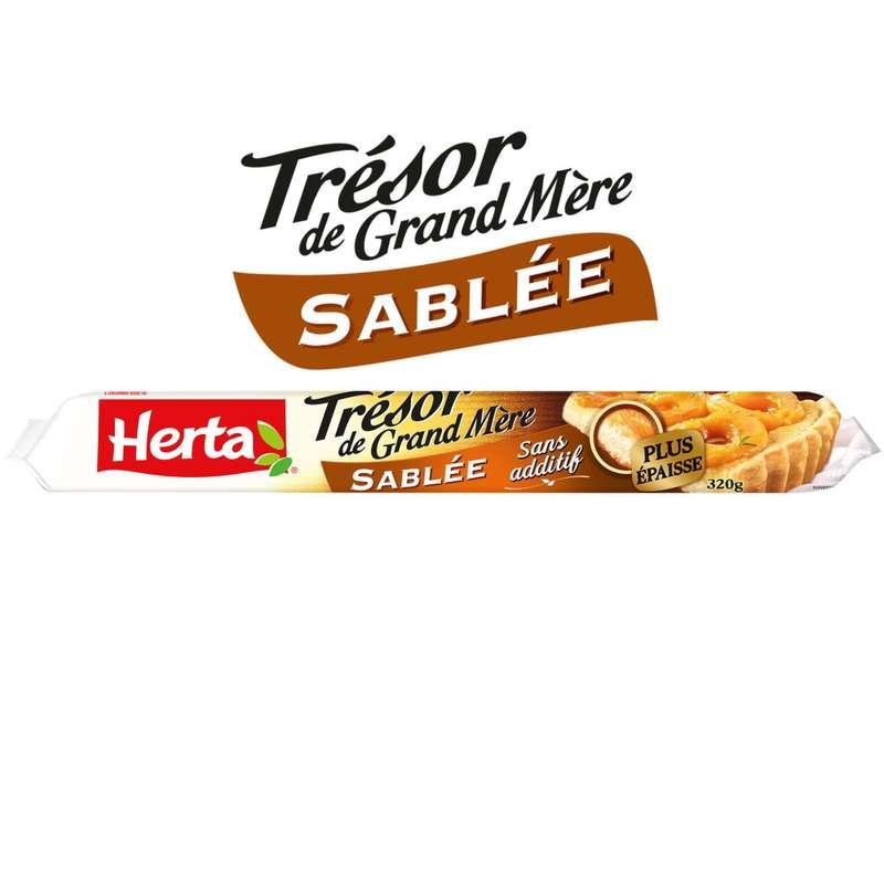 Pate à tarte sablée épaisse Trésor de grand mère, Herta (320 g)