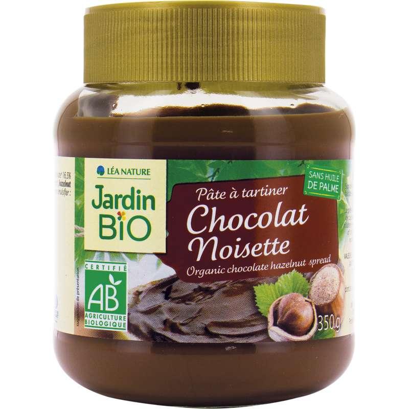 Pâte à tartiner aux noisette chocolat BIO, Jardin Bio (350 g)