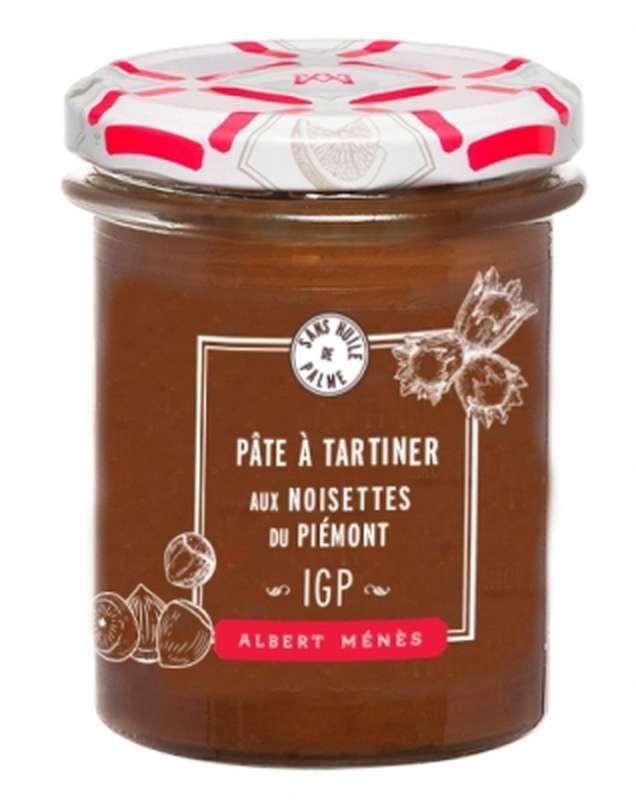 Pâte à tartiner aux noisettes du Piémont, Albert Ménès (210 g)
