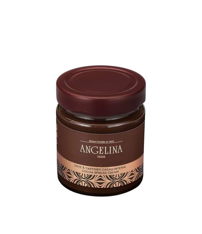 Pâte à tartiner cacao intense, Angelina (230 g)