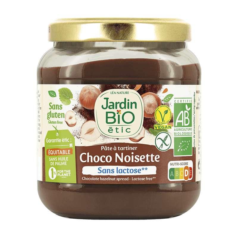 Pâte à tartiner choco noisettes sans gluten BIO, Jardin Bio étic (350 g)