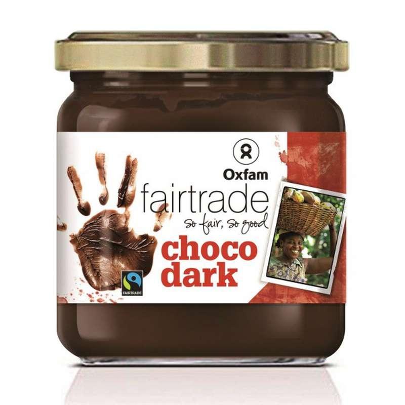 Pâte à tartiner chocolat noir BIO, Artisans du monde (400 g)
