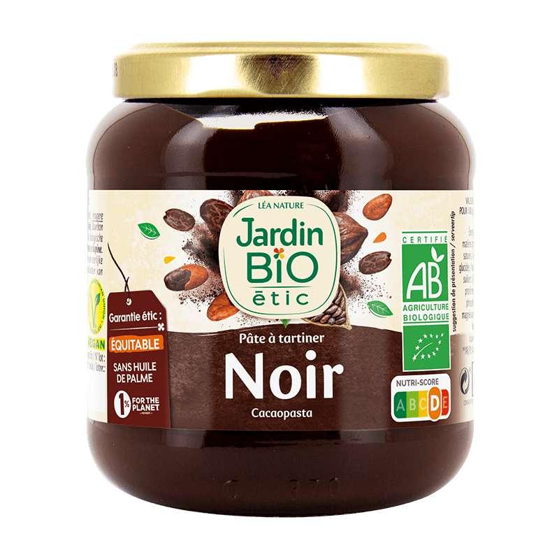 Pâte à tartiner chocolat noir BIO, Jardin Bio étic (350 g)