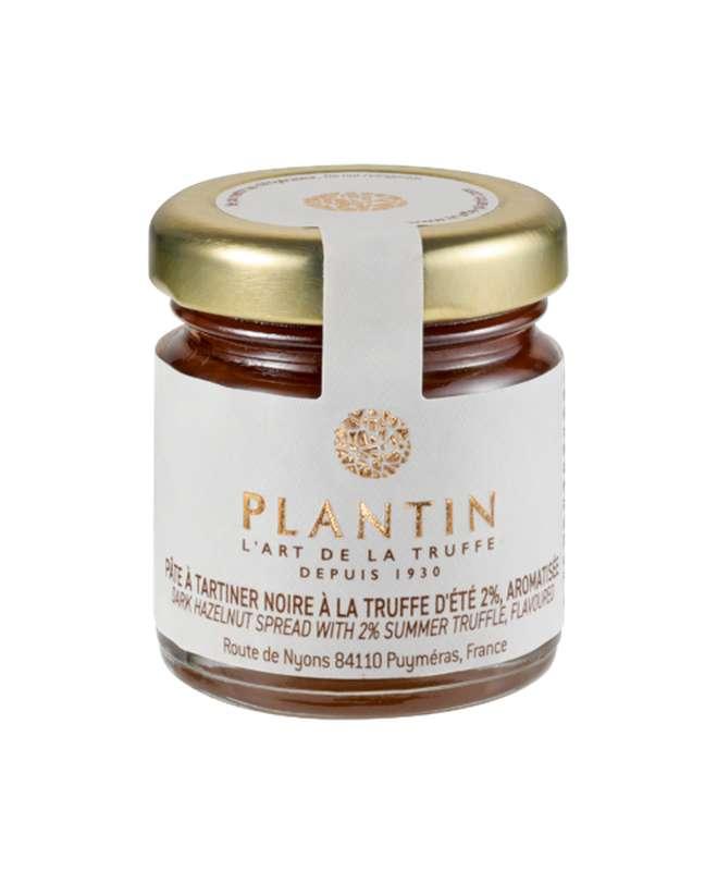 Pâte à tartiner noire à la truffe d'été 2% aromatisée, Plantin (30 g)