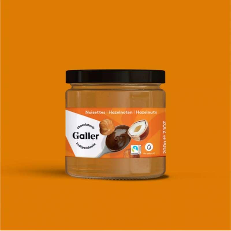Pâte à tartiner noisettes, Chocolat Galler (200 g)