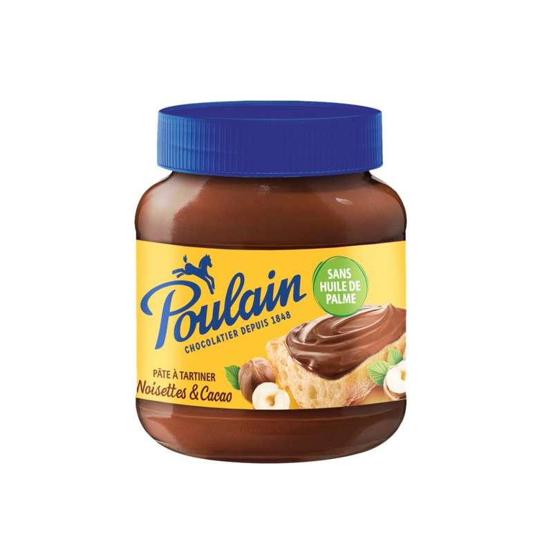 Pâte à tartiner noisettes et cacao, Poulain (400 g)