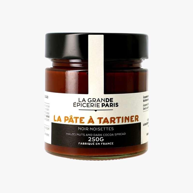 Pâte à tartiner noisettes et chocolat noir, La Grande Epicerie de Paris (250 g)