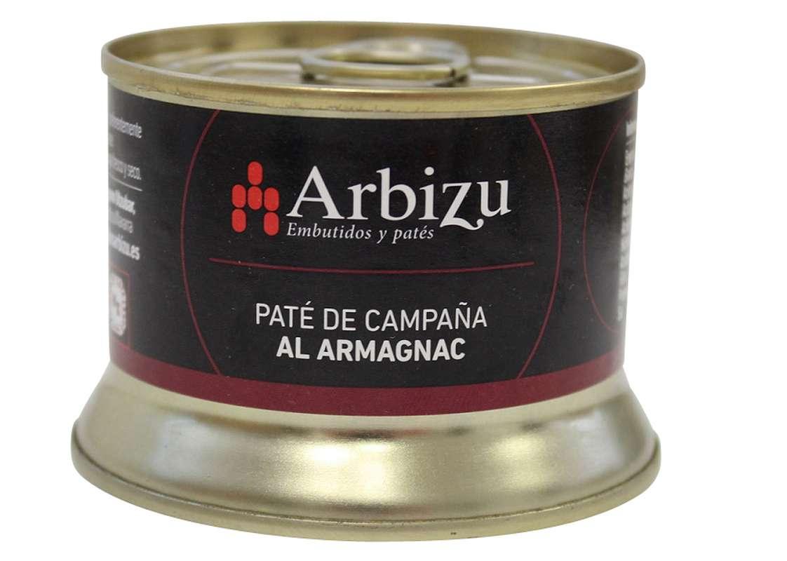 Pâté artisanal au brandy, Arbizu (130 g)