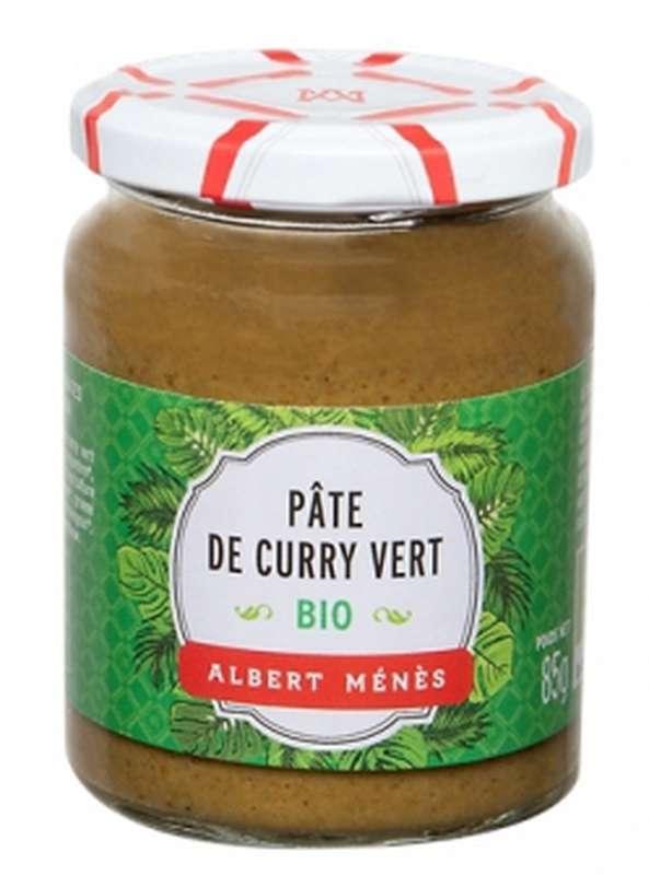 Pâte de curry vert BIO, Albert Ménès (85 g)