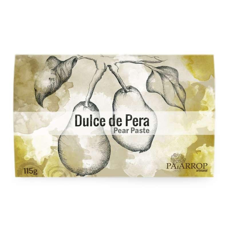 Pâte de poire artisanale, Paiarrop (115 g)