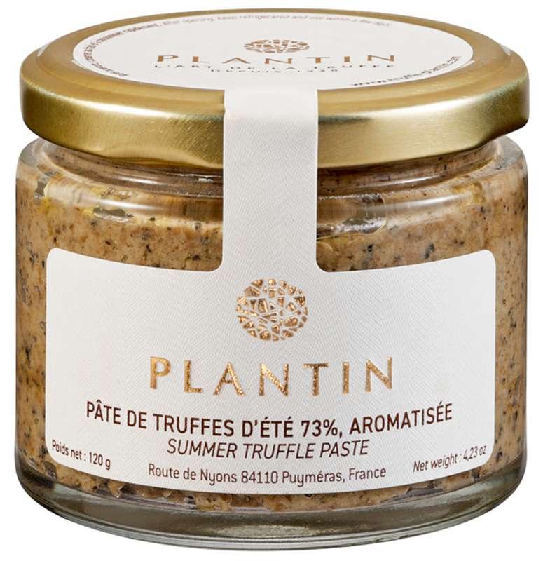 Pâte de truffes d'été 73% aromatisée, Plantin (120 g)