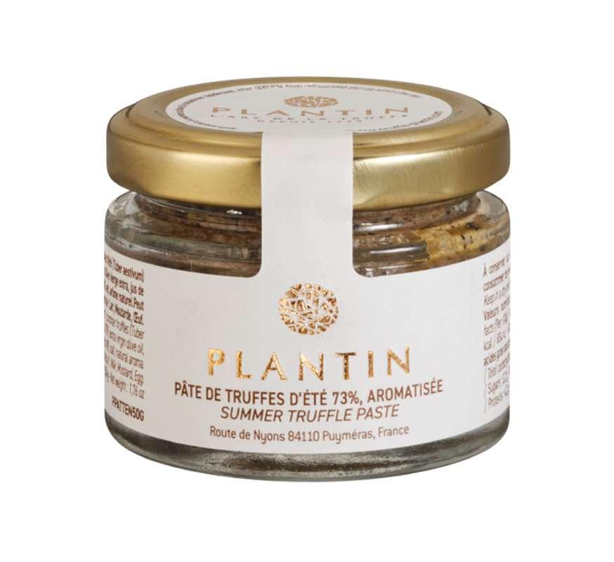 Pâte de truffes d'été 73% aromatisée, Plantin (50 g)