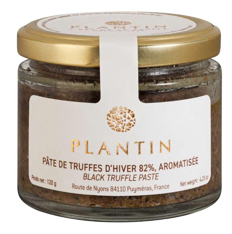 Pâte de truffes d'hiver 82% aromatisée, Plantin (120 g)