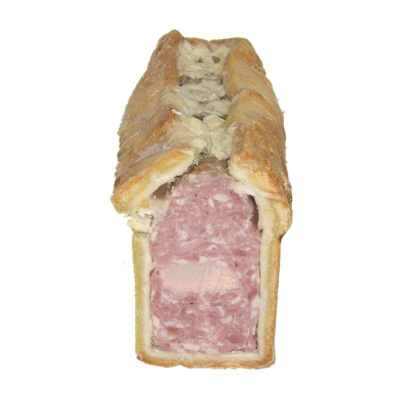 Pâté en croûte, Ferme de Montchervet (x 2 tranches, 230 g)