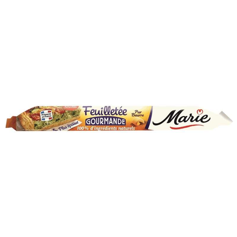 Pâte feuilletée pur beurre, Marie (280 g)