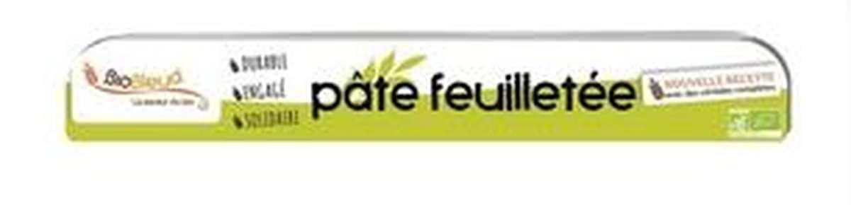 Pâte feuilletée ronde aux céréales complètes BIO, Biobleud (230 g)