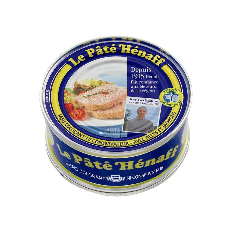 Pâté pur porc, Hénaff (154 g)