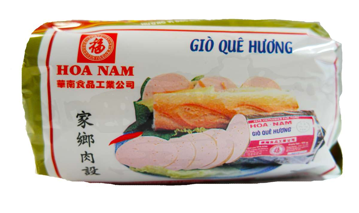 Pâté vietnamien au porc Gio Que Huong, Hoanam (500 g)