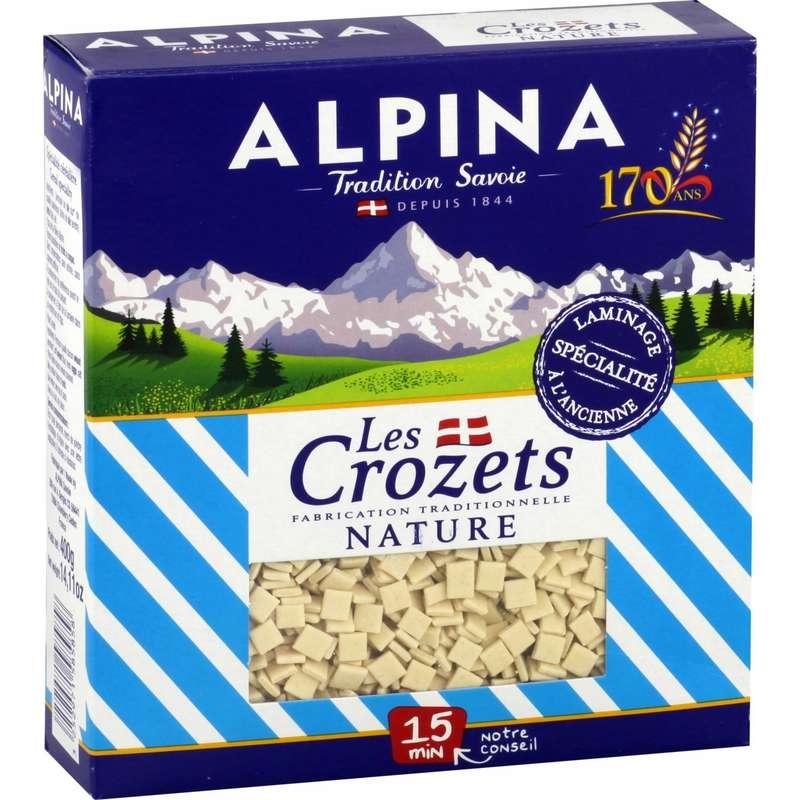 Crozets nature, Alpina (400 g)