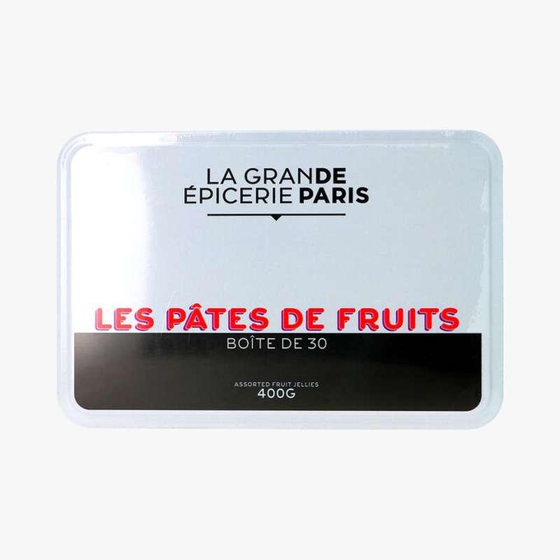 Pâtes de fruits coffret métal, La Grande Epicerie de Paris (x 30, 400 g)
