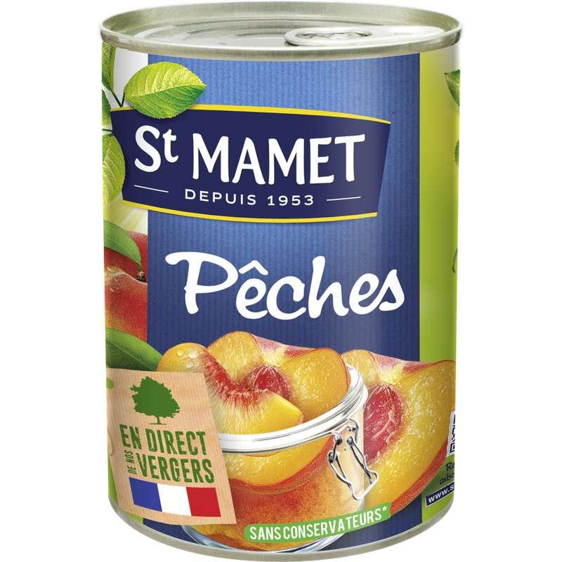 Pêche au sirop, St Mamet (245 g)