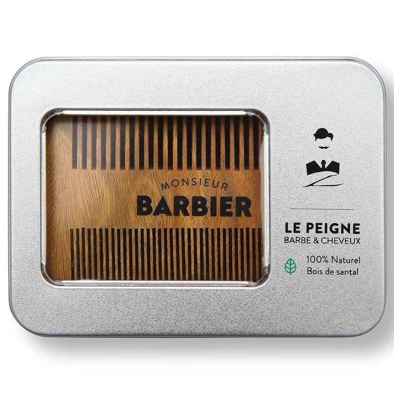 Peigne double face Barbe & Cheveux, Monsieur Barbier
