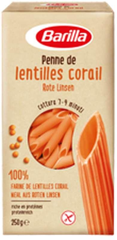 Penne de lentilles corail, Barilla (250 g)