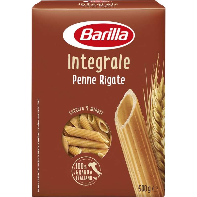 Penne Rigate intégrale au blé complet, Barilla (500 g)
