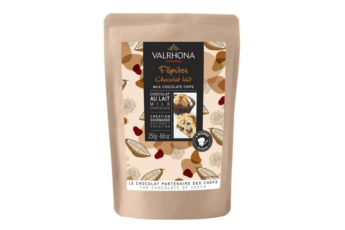 Pépites de chocolat au lait, Valrhona (250 g)