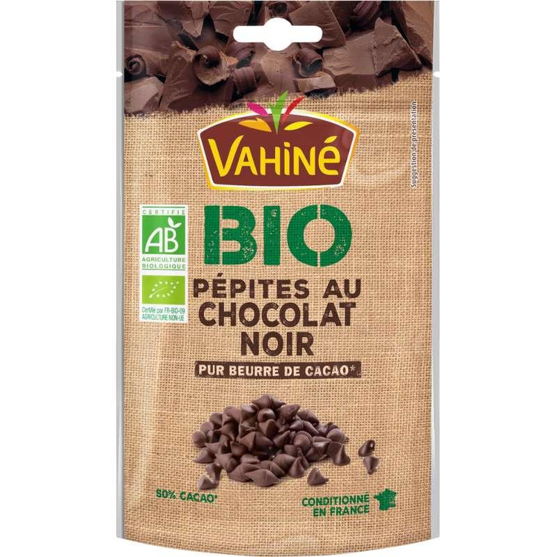 Pépites de chocolat noir BIO, Vahiné (100 g)