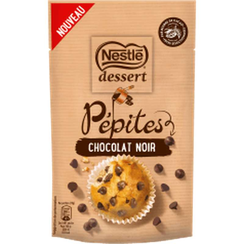 Pépites de chocolat noir, Nestlé dessert (100 g)