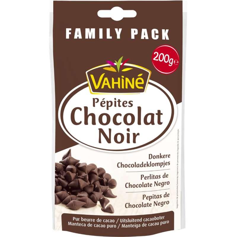 Pépites de chocolat noir, Vahiné (200 g)