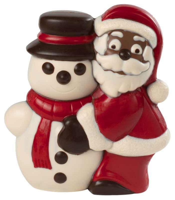 Père Noël & Bonhomme de Neige chocolat au lait, Genaveh