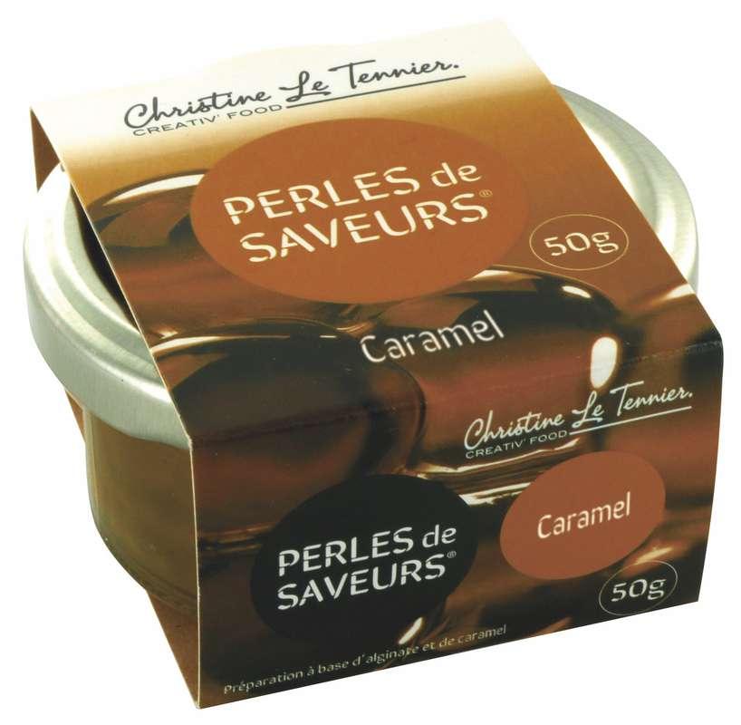 Perles de saveurs Caramel, Christine Le Tennier (50 g)
