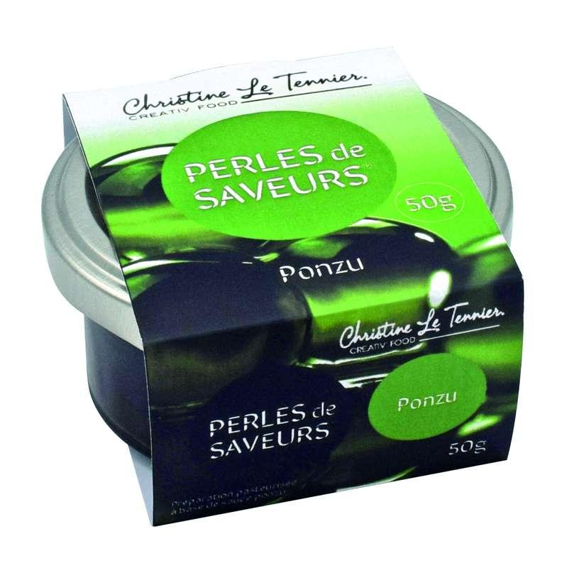 Perles de saveurs Ponzu, Christine Le Tennier (50 g)