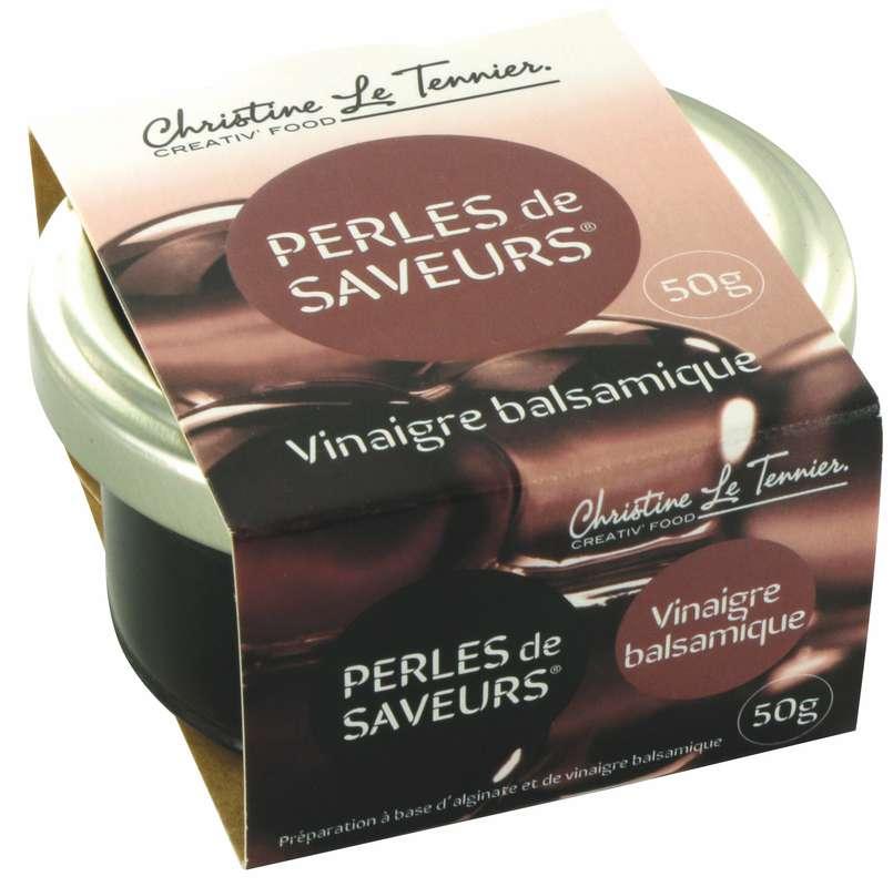 Perles de saveurs Vinaigre Balsamique, Christine Le Tennier (50 g)
