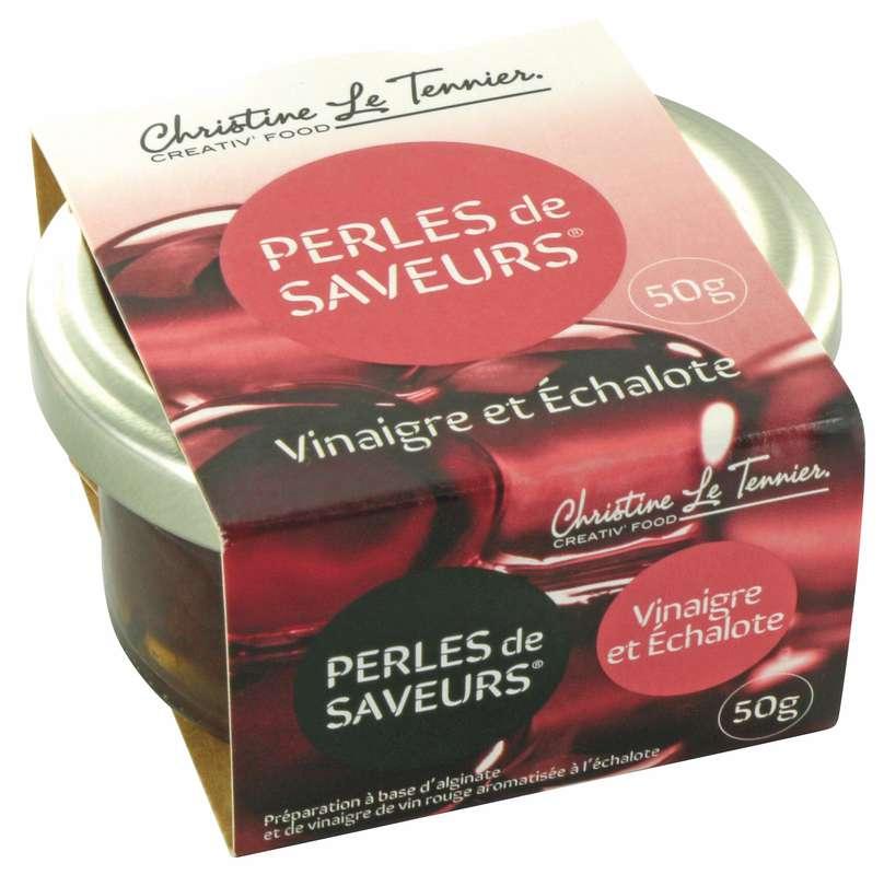 Perles de saveurs Vinaigre & Échalote, Christine Le Tennier (50 g)