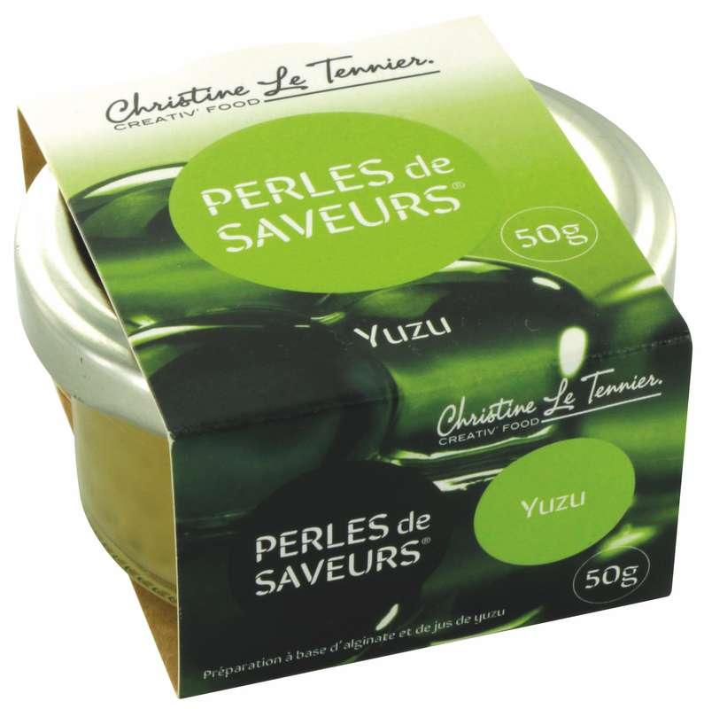 Perles de saveurs Yuzu, Christine Le Tennier (50 g)