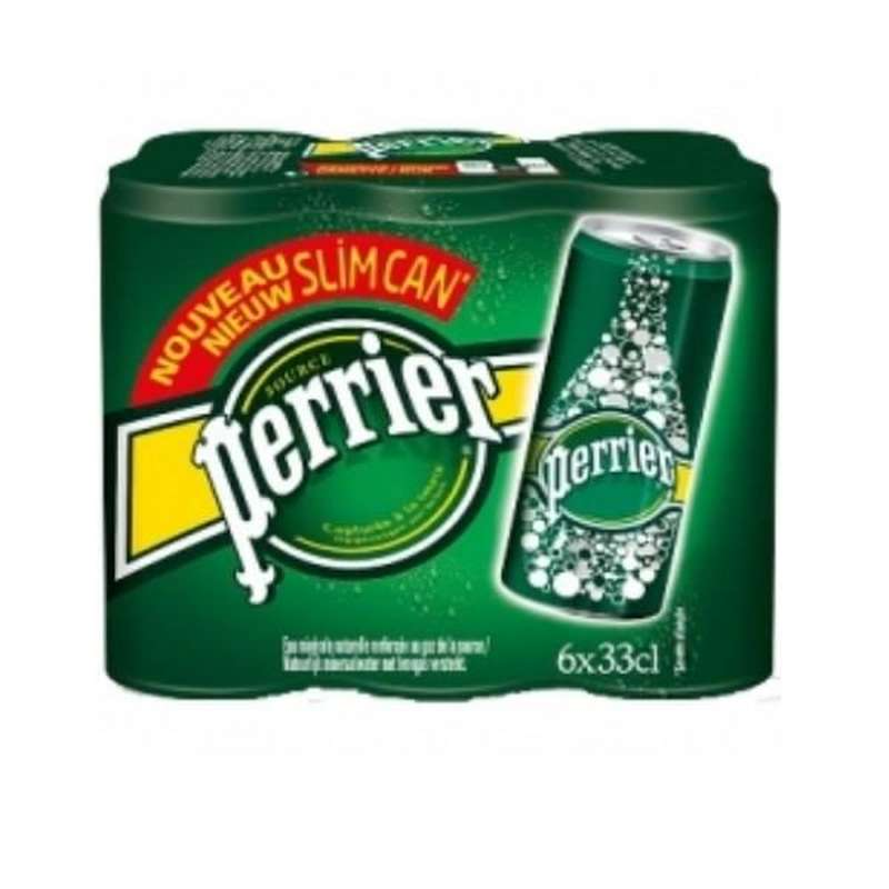 Pack de Perrier Slim (6 x 33 cl)