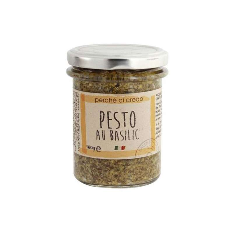 Pesto au basilic, Perche Ci Credo (180 g)