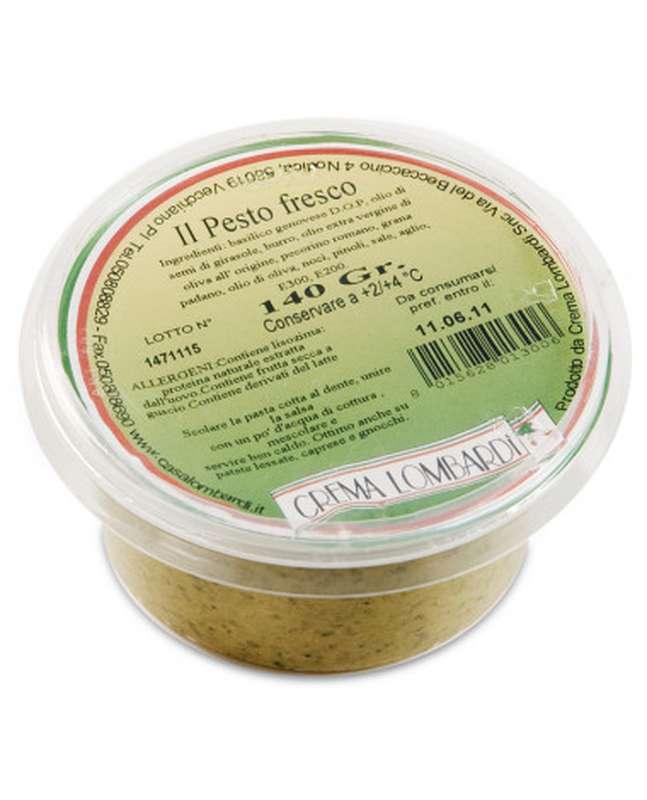 Pesto frais au basilic, Lombardi (140 g)