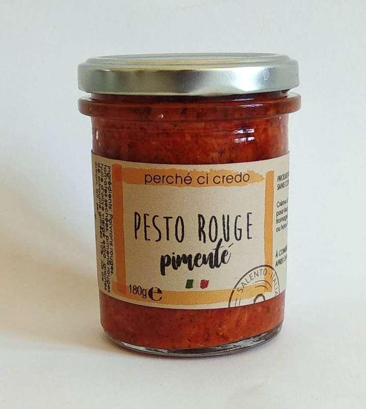 Pesto rouge pimenté, Perche Ci Credo (190 g)