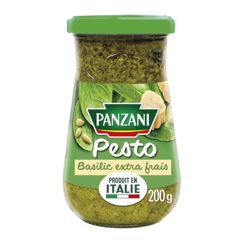 Pesto Basilic extra frais, Panzani (200 g)