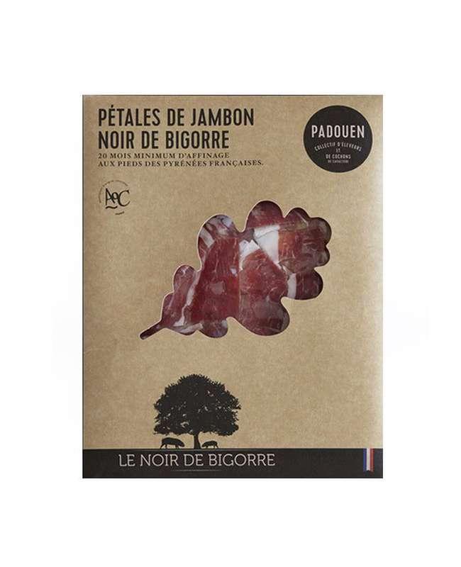 Pétales de jambon Noir de Bigorre, Padouen (80 g)