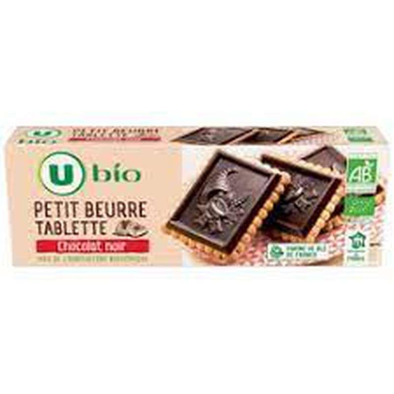 Petit beurre chocolat noir BIO, U (150 g)