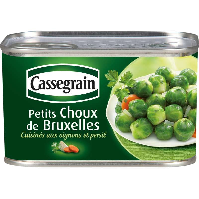 Petit choux de Bruxelles, Cassegrain (400 g)