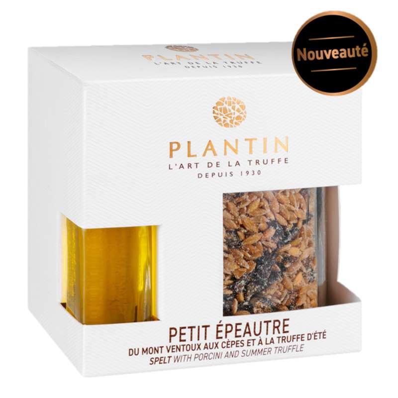 Petit épeautre du Mont Ventoux aux cèpes et à la truffe d'été, Plantin (200 g)